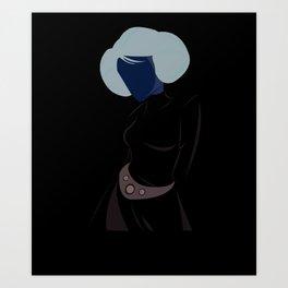Rebel Princess  Art Print