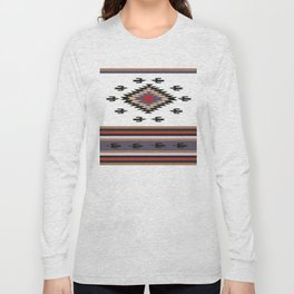 American Native Pattern No. 135 Long Sleeve T-shirt
