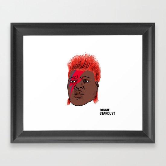Biggie Stardust Framed Art Print