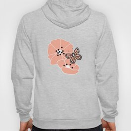 Flowers and butterflies pattern 003 Hoody