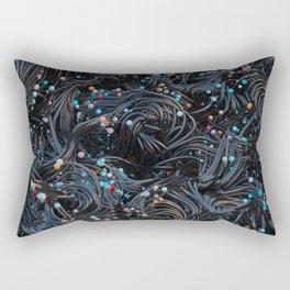 Running Blind Rectangular Pillow