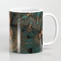 battlestar galactica Mugs featuring galactica by Ancello