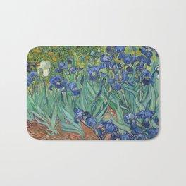 Vincent van Gogh - Irises Bath Mat