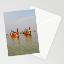 Fishing Boats Thailand Stationery Cards