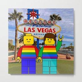 LGBT Pride Las Vegas Metal Print