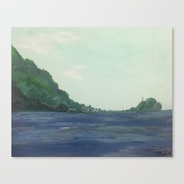 Scotts Head (Dominica #1) Canvas Print