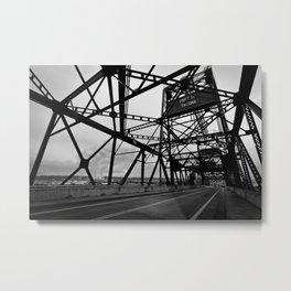 Port of Tacoma 11th St. Bridge Metal Print