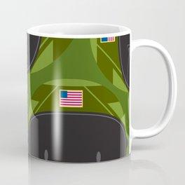 Cartoon Air Force Fighter Pilot Pattern Coffee Mug