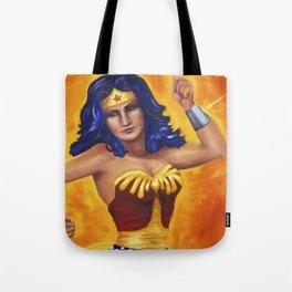 Princess Diana of Themyscira Tote Bag