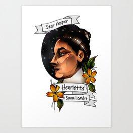 Henrietta Swan Leavitt Art Print