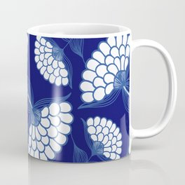 Royal Floral Motif Coffee Mug