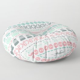 Sewing Floor Pillow