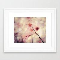 blush Framed Art Prints featuring Blush by Jenndalyn