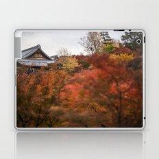 Kyoto in the Fall 2014 II Laptop & iPad Skin