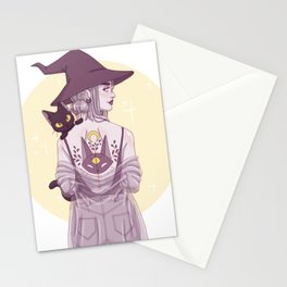 Cat Witch Stationery Cards