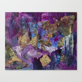Drizzle Painting  Canvas Print