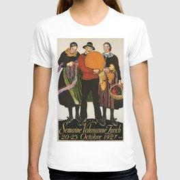Vintage poster - Zurich T-shirt