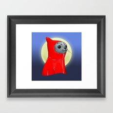 Hooded Seal Framed Art Print