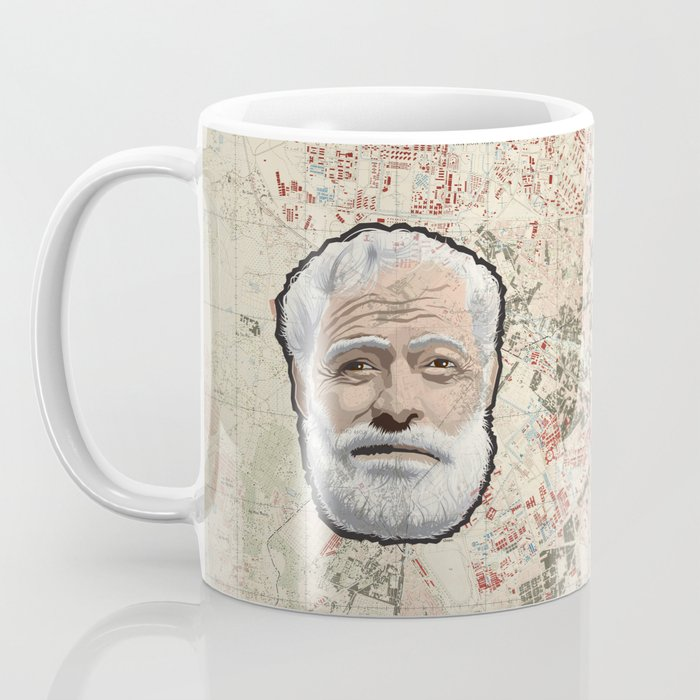 Ernest Hemingway Coffee Mug