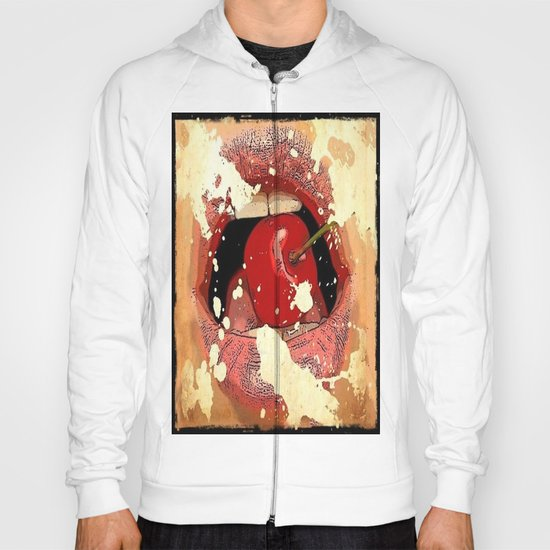 Red Cherry Lips Hoody
