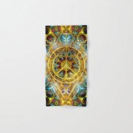 Sacred Geometry Fractal Mandala Hand & Bath Towel