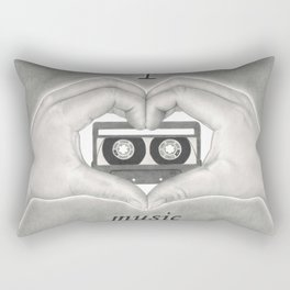 Love 02 Rectangular Pillow