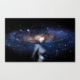 Nubian Galaxy  Canvas Print