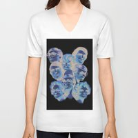 hydra V-neck T-shirts featuring Hydra by WeLoveHumans