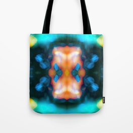 Abstraction float Tote Bag