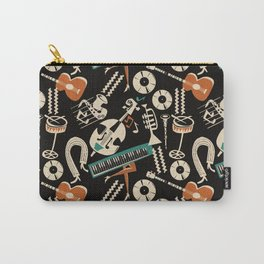 Jazz Rhythm (negative) Carry-All Pouch
