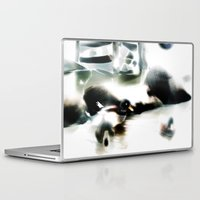 ducks Laptop & iPad Skins featuring ducks  by Gréta Thórsdóttir