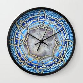 Celtic Tides Wall Clock