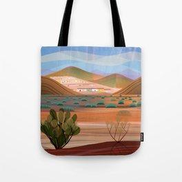 Copper Town (Square) Tote Bag