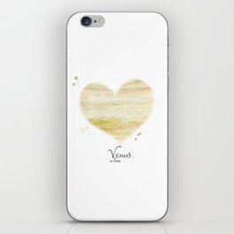 Venus in love iPhone Skin