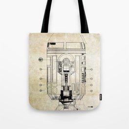 R2-D2  Patent Tote Bag