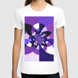 Purple Kaleidoscope Mandala T-shirt