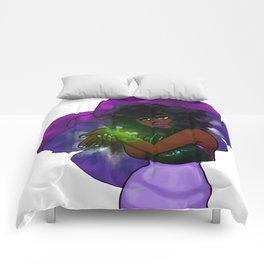 Shrinking Violet Comforters