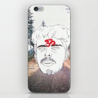 chill iPhone & iPod Skins featuring Chill by Kim Wells