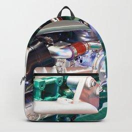 Natural gas engine Backpack