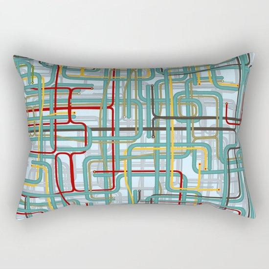 Pipe nightmare Rectangular Pillow