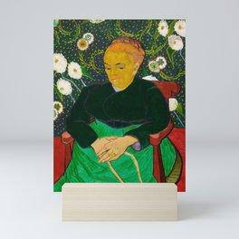 Vincent Van Gogh - The Berceuse, Woman Rocking a Cradle Mini Art Print