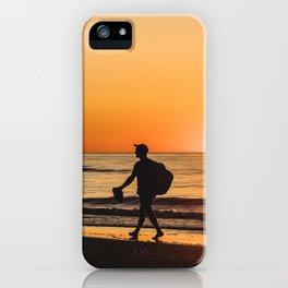 Sunset over Adriatic Sea iPhone Case
