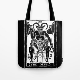 The Devil by Shayne of the Dead Tote Bag