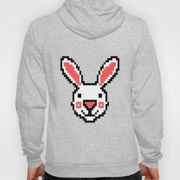 Video Game Bunny 16 Bit Retro Vintage Pixel Artwork Gift Idea Hoody