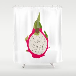 Dargonfruit Shower Curtain