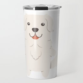 Slovak Cuvac Dog Gift Idea Travel Mug