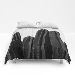 Cactus Black & White Comforters