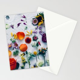 Assorted Flowers Stationery Cards