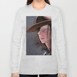 Carl Grimes Before The Fall - The Walking Dead Long Sleeve T-shirt