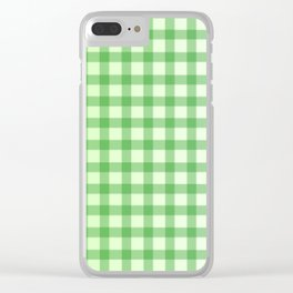 Vichy Green Clear iPhone Case